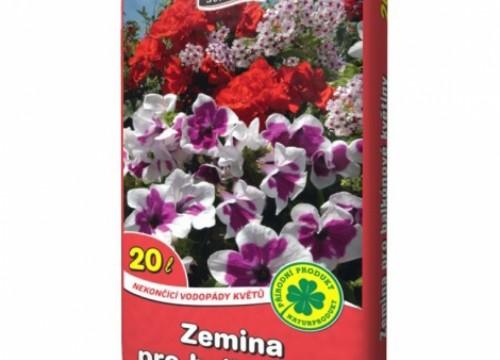 Zemina pro balkonové květiny 40 lt (812/1)