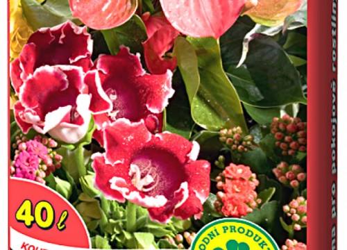 Substrát pro pokojové rostliny 40 lt (813)
