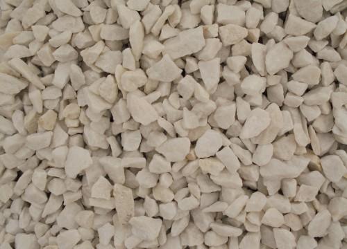 Bílá drť 8-14 mm